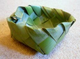 New Zealand Flax Basket
