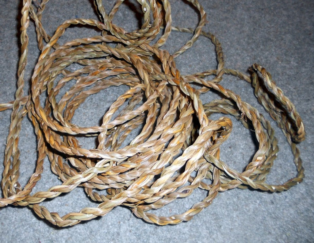 Rope Made From Field Rush