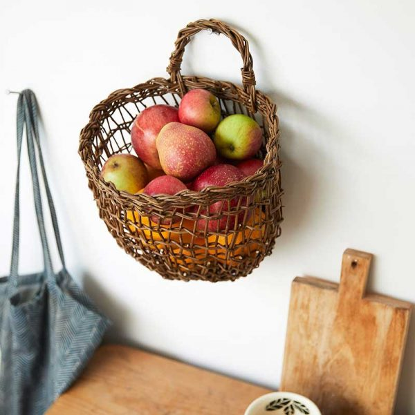 Large willow wall basket by Julie Gurr