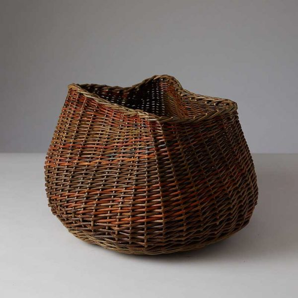 Willow organic freeform basket by Julie Gurr